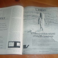 MARTIN SPEAKERS USA Audio Magazine MAY 1973