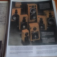 MARTIN SPEAKERS USA Gamma Series Brochure