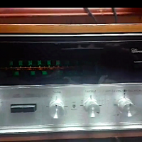 Sansui 5000x with cabinet back tuner