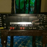 Sansui 3500 receiver back with broken antena