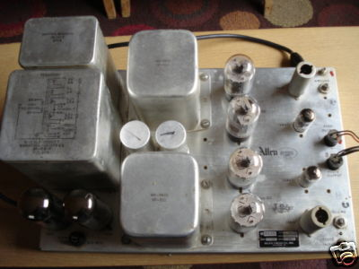 Allen Type 40 Stereo 6L6 Amplifier | Audiokarma Home Audio Stereo