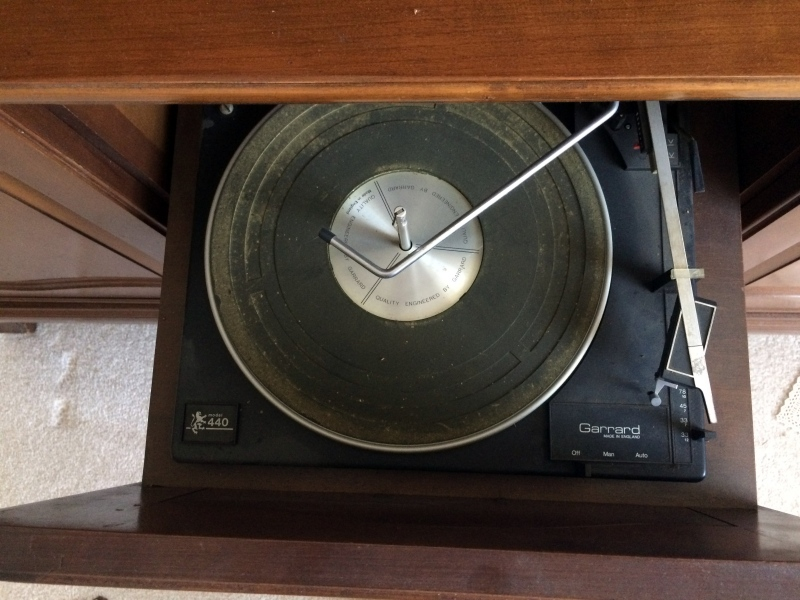 Free RCA Victor stereo console in